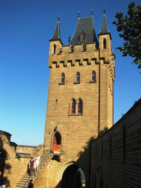 hohenzollern castle tower