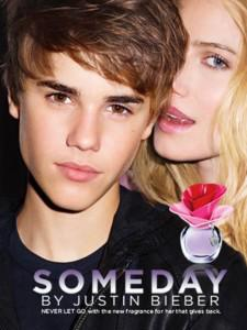 Justin does a Fragance Ad with Dree Hemingway