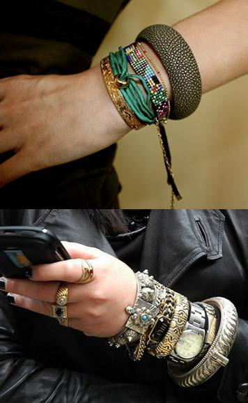 bracelets 11Accessories How To: When More is, Well, More!