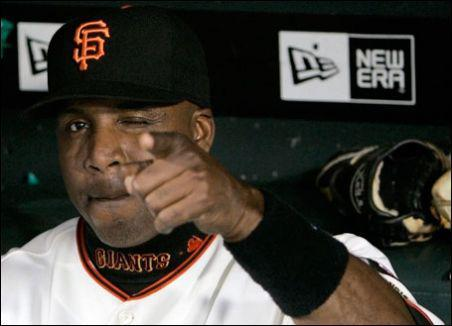 Random Acts of Kindness: The Barry Bonds Edition (seriously).