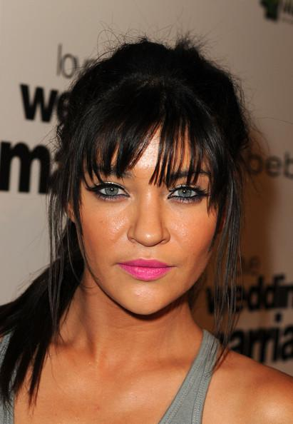 Jessica+Szohr+Premiere+IFC+Films+Love+Wedding+OujqjJqIEgfl Celebrity Makeup Trend SS 2011: Hot Pink Lips