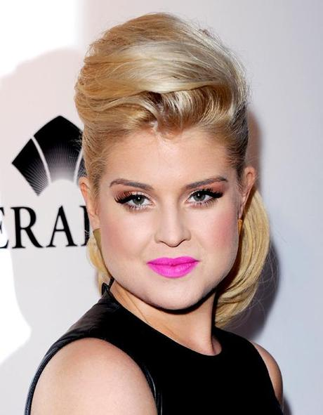 kelly osbourne pink Celebrity Makeup Trend SS 2011: Hot Pink Lips