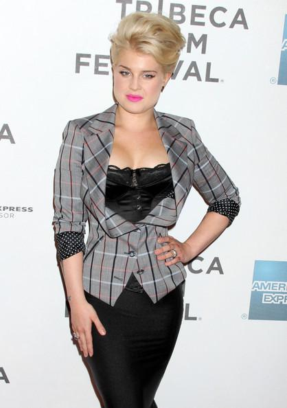 Kelly+Osbourne+Tribeca+Film+Festival+God+Bless+z2dWq XNWFzl Celebrity Makeup Trend SS 2011: Hot Pink Lips