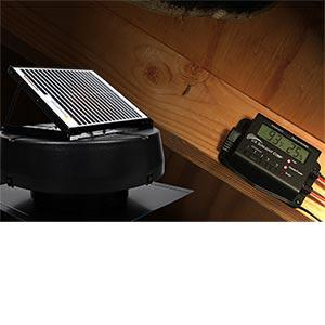 Costco Offers Solar Powered Attic Fan 1010TR
