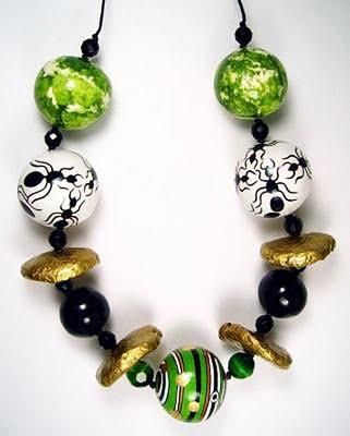 Evangeline Duplessis - Papier Mache Jewelry