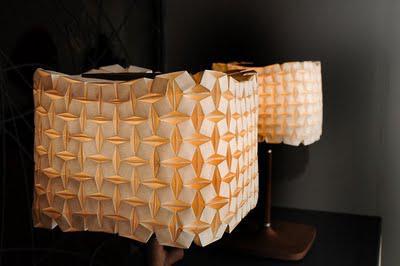 Origami Lampshades - Ilan Garibi