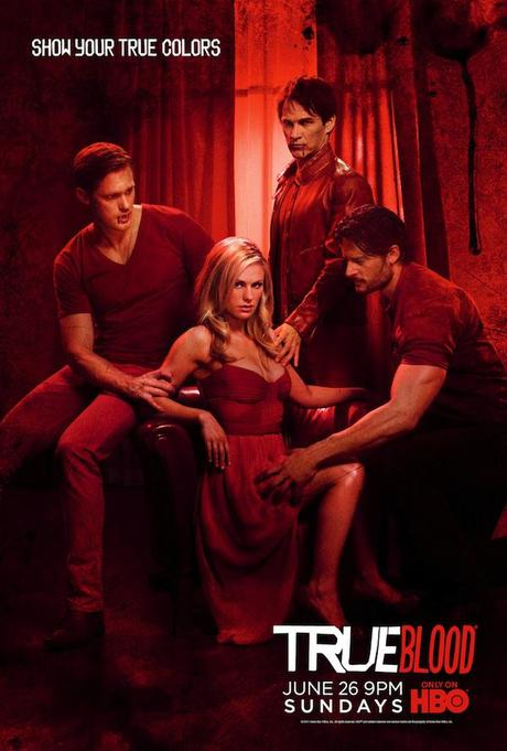 true blood season 3 poster. TVLine just posted the latest True Blood season 4 poster featuring Sookie