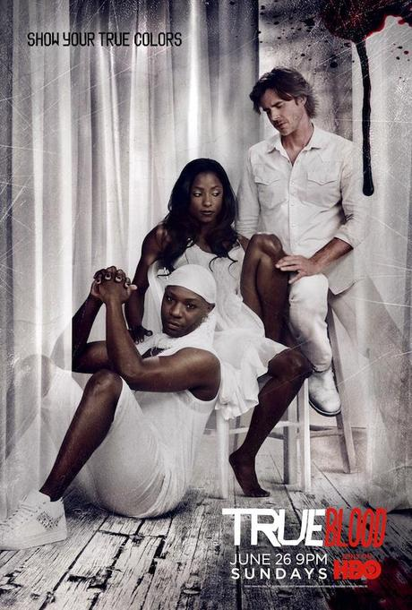 true blood poster season 4. Photo: New True Blood Season 4