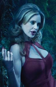 "Kristin Bauer talks S4 and her character Pam, a vampire ""femme fatale"""