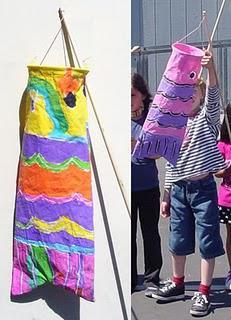 Japanese Wind Sock Puppet