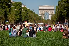 Champs-Elysées go green - Paris, France