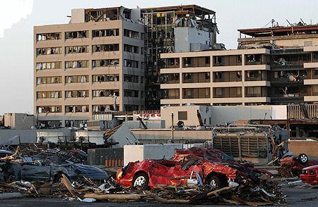 Tornado Devastation In Joplin