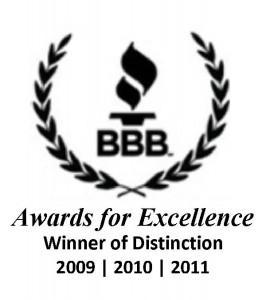 Houston BBB Recognizes Oasis Advanced Wellness – Winner of Distinction 2011