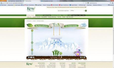 Tweet & Grow – Kew Goes Interactive