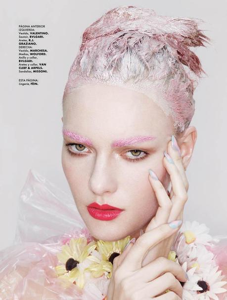 jamie nelson4 Hot Makeup: Elle Mexico June 2011