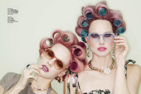 jamie nelson6 Hot Makeup: Elle Mexico June 2011