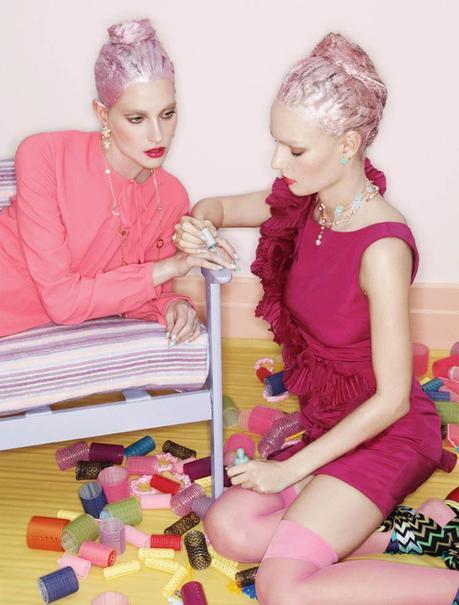jamie nelson3 Hot Makeup: Elle Mexico June 2011