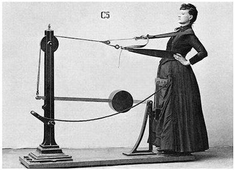 Too Lazy To Work Out? Machines That Exercise For You, From Victorian Times To The Present