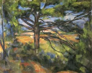 Paul Cezanne - Large Pine & Red Earth - The Hermitage