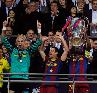 Barcelona Win Champions League With 3-1 Domination