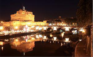 Castel Sant'Angelo and Ponte Sant'Angelo in Ro...