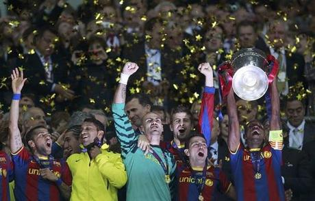 The Best Images From Barcelona's Champions League Victory
