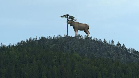 Sweden Plans To Build Giant Wooden Moose