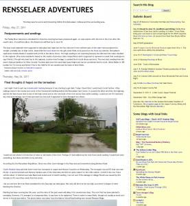 Indiana Blogs: Rensselaer Adventures Website