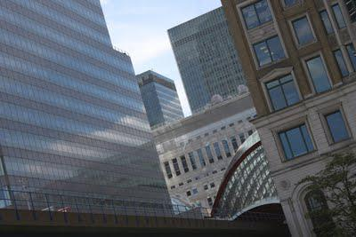 In and Around London... Canary Wharf