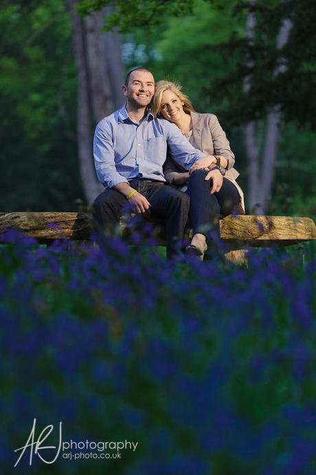 Trentham Gardens engagement shoot ARJ Photography
