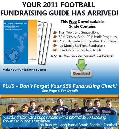 Your 2011 Football Fundraising Guide from JustFundraising.com