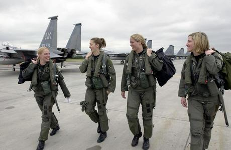 Women in the Air Force in Danger