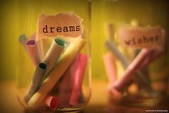 dreams and wishes. 62/365