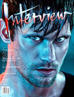 Alexander Skarsgard Interview Magazine