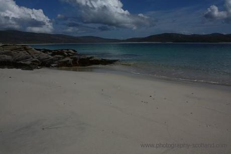 Image- one of many unspoilt beaches on Taransay, Scotland