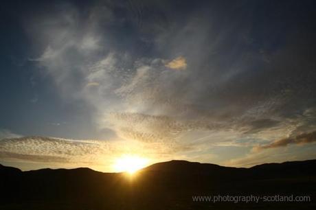 Photo - sunset on Taransay, Scotland