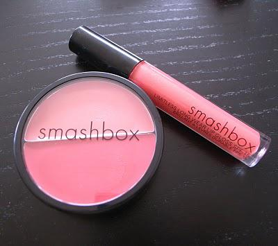 Smashbox In Bloom - Cream Cheek Duo and Endless Kiss Lipgloss