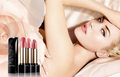 New Lancome L'Absolu Nu Lipstick in Rose Ideal
