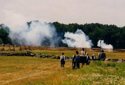 Battle of Gettysburg Then and Now
