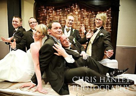 Fun contemporary spring wedding photos by Chris Hanley 05