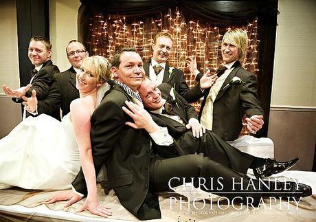 Fun contemporary spring wedding photos by Chris Hanley 05