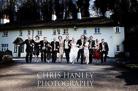 Fun contemporary spring wedding photos by Chris Hanley 10