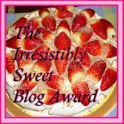 My first blog award!