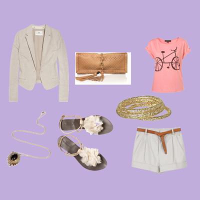 Streaks of lilac