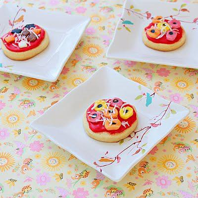 Mini party pizzas