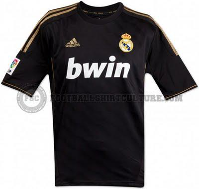 2011/12 Real Madrid Away Kit Leak