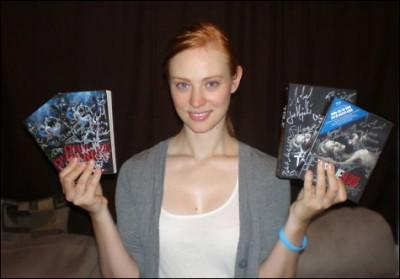 True Blood S2 Blu-Ray signed by Cast auctioned for Charity