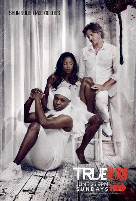 True Blood Season 4 poster-white