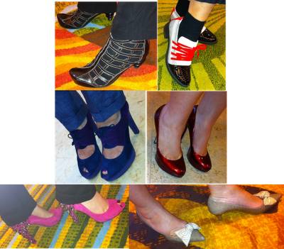 Some Shoes that Were Worn at the AICI Conference