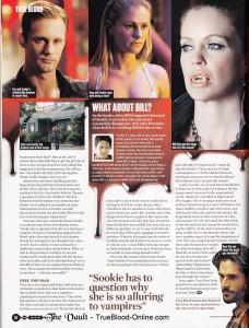 True Blood's Alex Woo interview in SFX Magazine